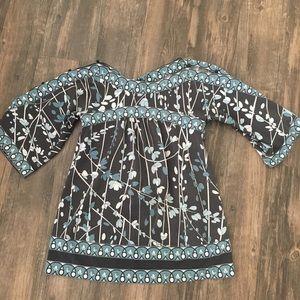 BCBG tunic top